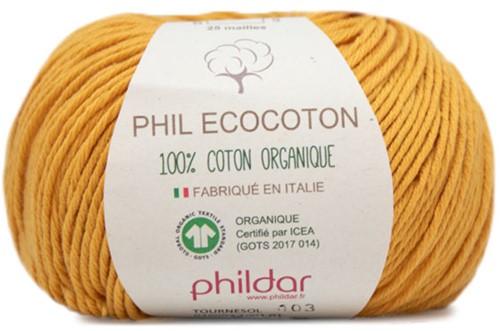 Phildar Phil Ecocoton 1001 Tournesol