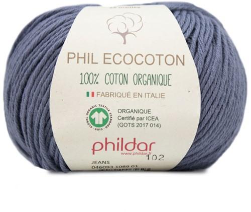 Phildar Phil Ecocoton 1089 Jeans