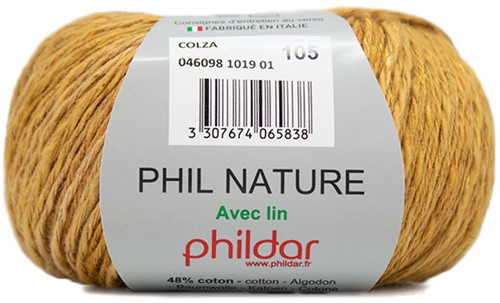 Phildar Phil Nature 1019 Colza