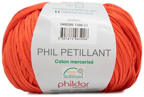 Phildar Phil Petillant 1396 Corail