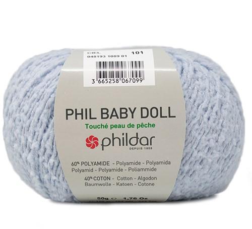 Phildar Phil Baby Doll 1089 Ciel