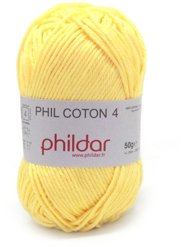 Phildar Phil Coton 4 1440 Citron