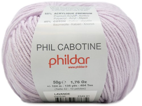 Phildar Phil Cabotine 2349 Lavande