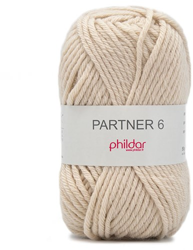 Phildar Partner 6 2167 Sable