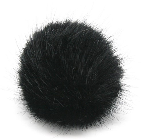 Rico Kunstbont Pompon Medium 6 Black