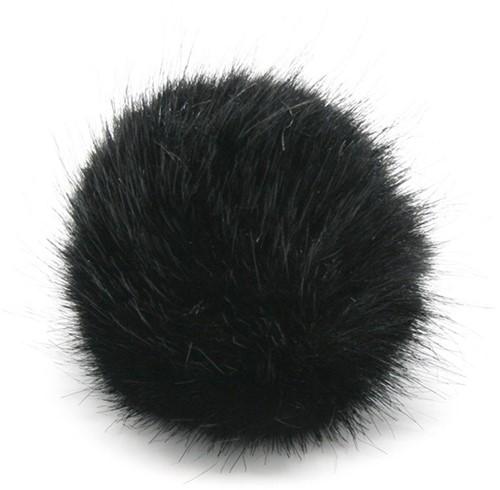 Rico Kunstfell Pompon Medium 6 Black