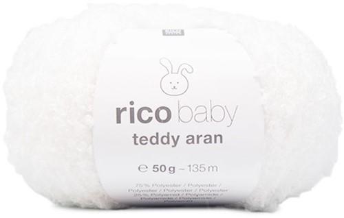 Rico Baby Teddy Aran 01 White