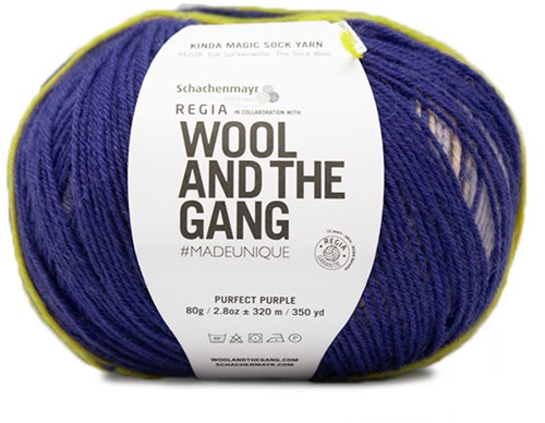 SMC Regia Pairfect Kinda Magic Sock Yarn Design Line by Wool and the Gang 4-PLY6457