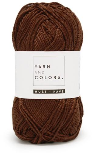 Yarn and Colors Foldable Net Bag Häkelpaket 027 Brunet