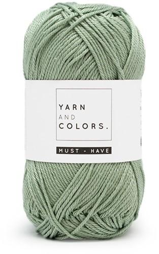 Yarn and Colors Foldable Net Bag Häkelpaket 080 Eucalyptus