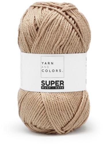 Yarn and Colors Bobbles Comfy Cushion Häkelpaket 009 Limestone