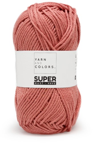 Yarn and Colors Black, White and Bright Comfy Cushion Strickpaket 047 Old Pink