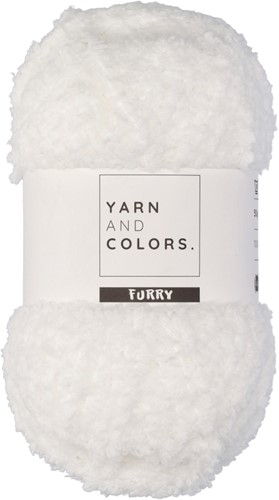 Yarn and Colors Furry 001 White