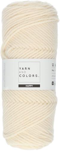 Yarn and Colors Maxi Cardigan Häkelpaket 1 S/M Cream