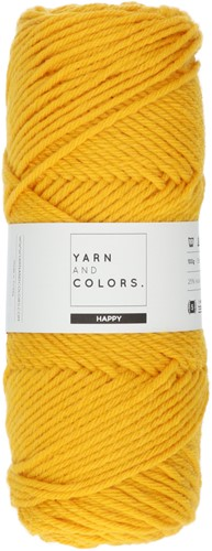 Yarn and Colors Maxi Cardigan Häkelpaket 3 S/M Mustard