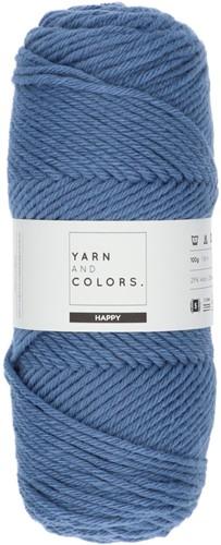 Yarn and Colors Maxi Cardigan Häkelpaket 8 L/XL Denim