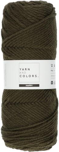 Yarn and Colors Maxi Cardigan Häkelpaket 11 S/M Khaki