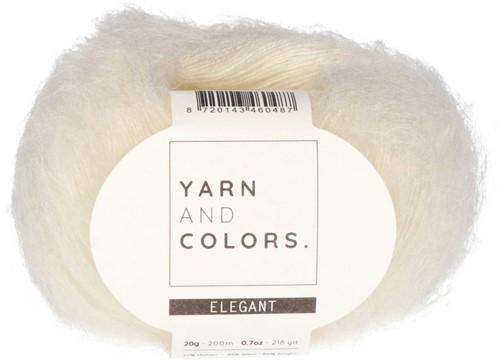 Bea Langer Cardigan ohne Ärmel Strickpaket 1 Cream S