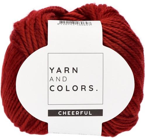 Yarn and Colors Chunky Cheerful Mittens Häkelpaket 1 Burgundy