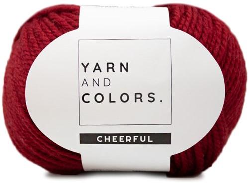 Yarn and Colors Chunky Cheerful Mütze Häkelpaket 1 Burgundy