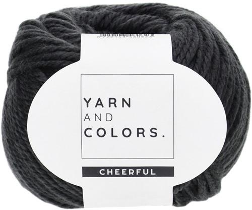 Yarn and Colors Chunky Cheerful Mittens Häkelpaket 2 Graphite