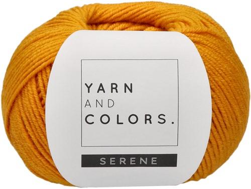 Yarn and Colors Criss Cross Dot Scarf Häkelpaket 015 Mustard