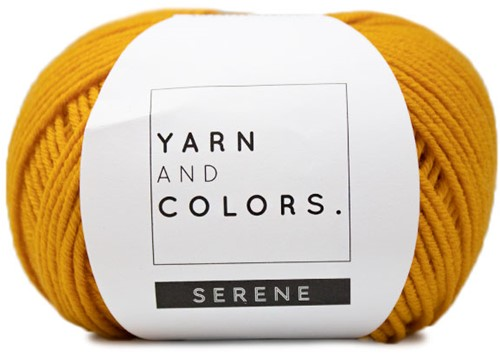 Yarn and Colors Criss Cross Dot Headband Häkelpaket 015 Mustard