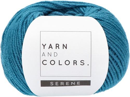 Yarn and Colors Criss Cross Dot Headband Häkelpaket 069 Petrol Blue