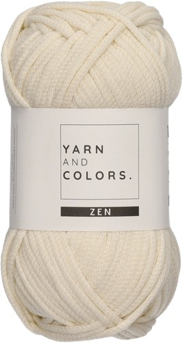 Yarn and Colors Tank Top Strickpaket 1 Cream XL