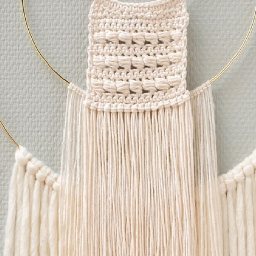 Yarn and Colors Three is a Charm WOW! Wandschmuck Paket 091 Cream