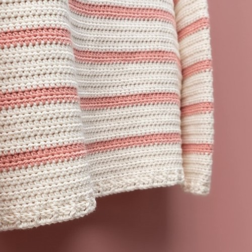 Yarn and Colors Classic Jumper Häkelpaket 1 Old Pink M