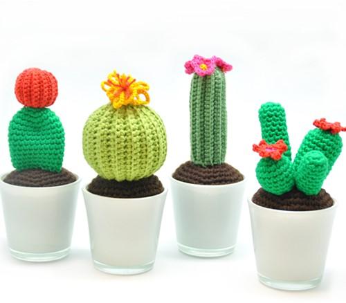 Häkelanleitung Kaktus
