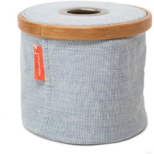 Wollspender Faltbar Tuchstoff und Bambus S Blau