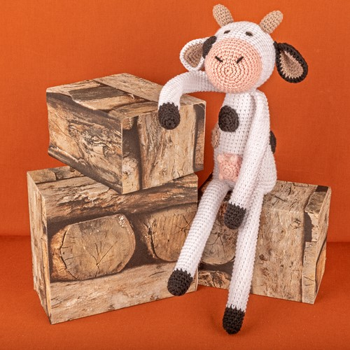 Häkelanleitung Yarn and Colors Clara Cow
