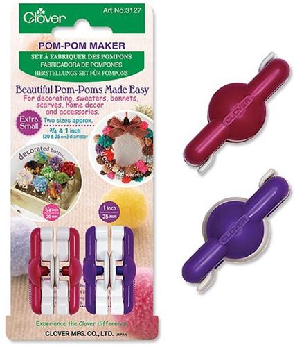 Clover Pompon Maker XS