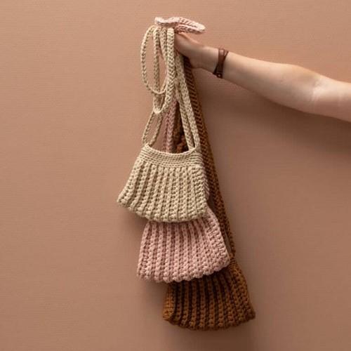 Häkelanleitung Yarn and Colors Cool Cross Body Bag
