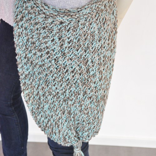 Strickanleitung Cotone shopper