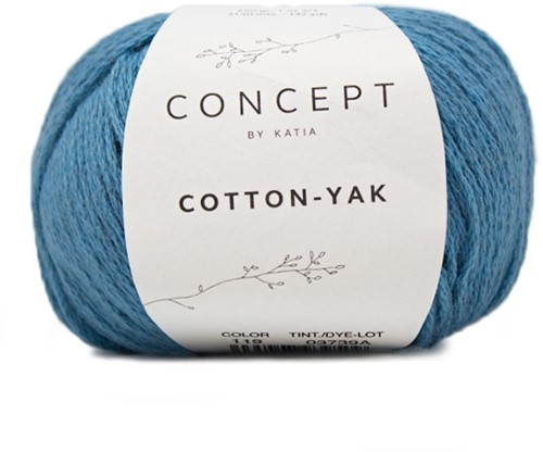 Cotton-Yak T-shirt Strickpaket 2 46/52 Blue