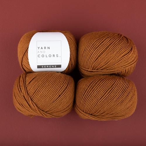 Yarn and Colors Soft Serene Socken Häkelpaket 2 Satay