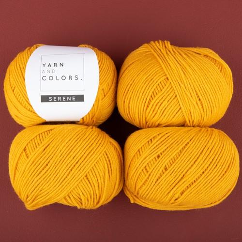 Yarn and Colors Soft Serene Socken Häkelpaket 1 Mustard