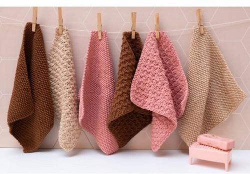 Strick-/Häkelanleitung Yarn and Colors Clean Cloths