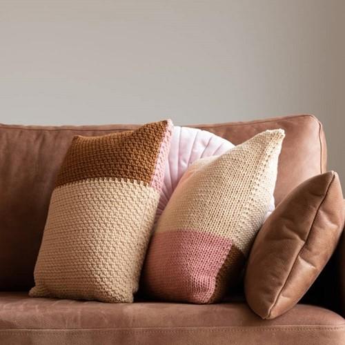 Yarn and Colors Fab Cushion Strickpaket
