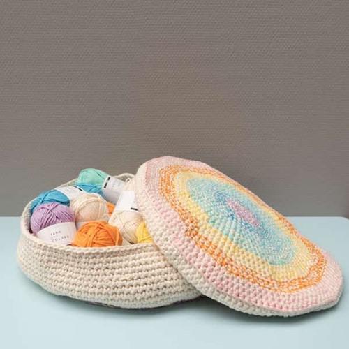 Yarn and Colors Rainbow Basket Häkelpaket 2 Pastel