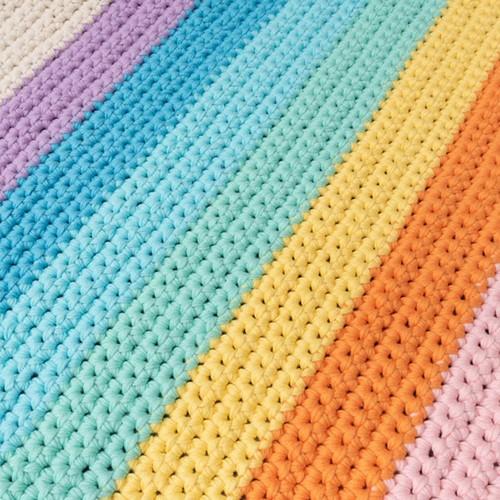 Yarn and Colors Rainbow Roll Häkelpaket 2 Pastel