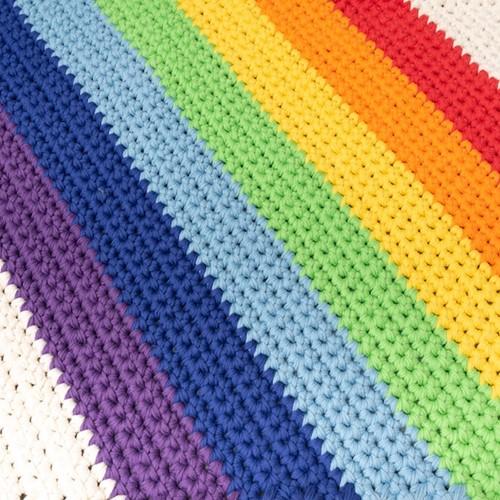 Yarn and Colors Rainbow Rug Häkelpaket 1 Colorful