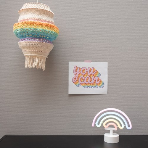 Yarn and Colors Rainbow Lamp Häkelpaket 2 Pastel
