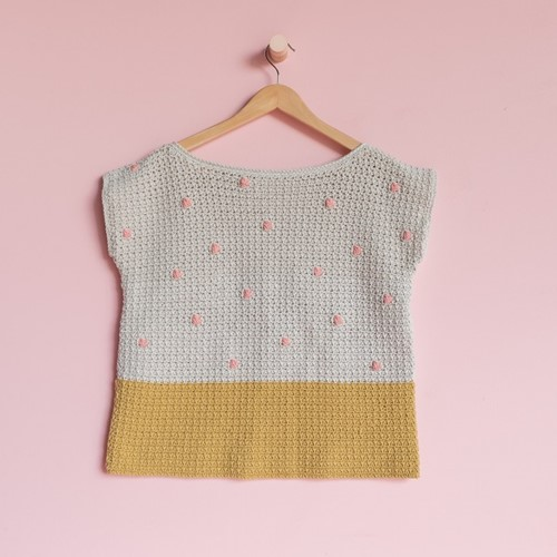Yarn and Colors 'Baby You Look Fabulous' Top Häkelpaket XL 1 Birch