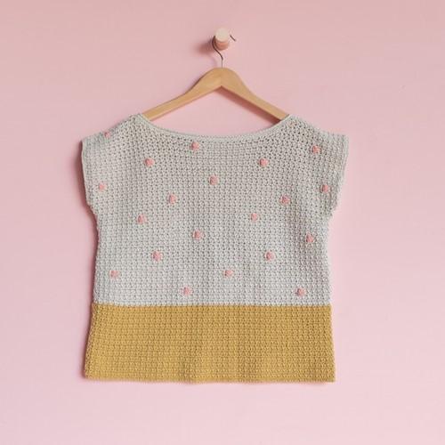 Yarn and Colors 'Baby You Look Fabulous' Top Häkelpaket L 1 Birch
