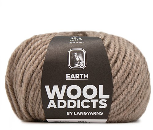 Wooladdicts Touch of Taupe Pullover Strickpaket 2 M