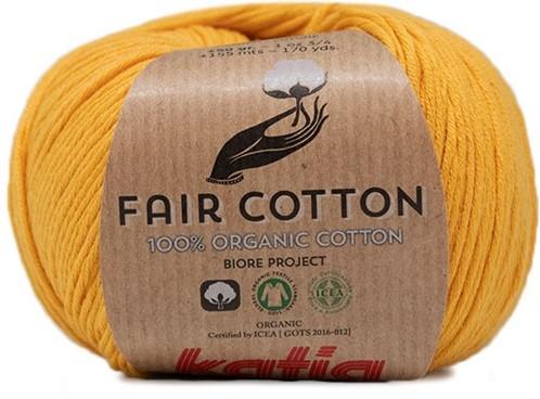Fair Cotton Bolero Häkelpaket 1 50/52 Yellow